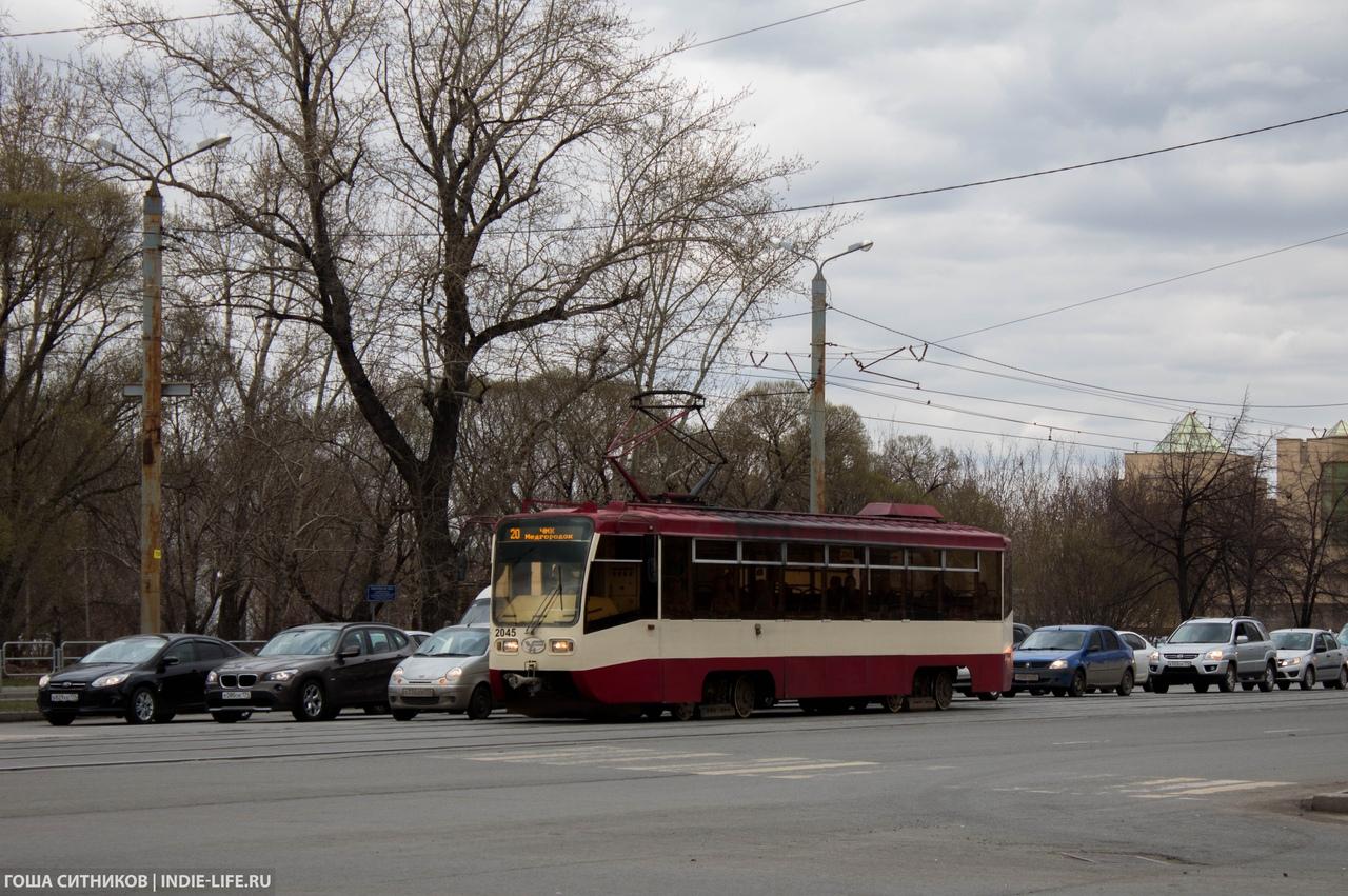 Трамвай Челябинск