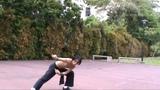 7-Stars Preying Mantis Fist - Stomping step