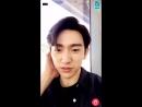 [Видео] 180922 @ Джинён упомянул Джексона в своём V live