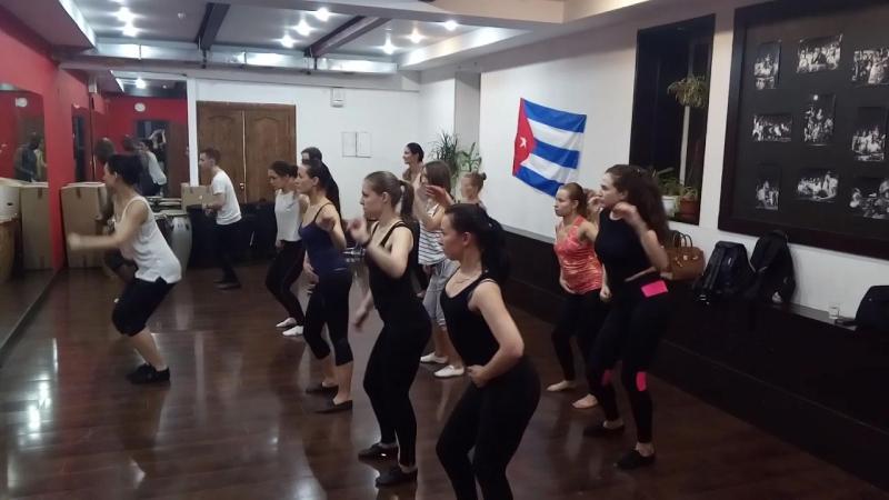 1.12.2017 bembespb - guaguanco con Iya y Ildemar
