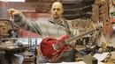 Robert Fripp PAF Hollow hybrid MIDI sustainer guitar demo