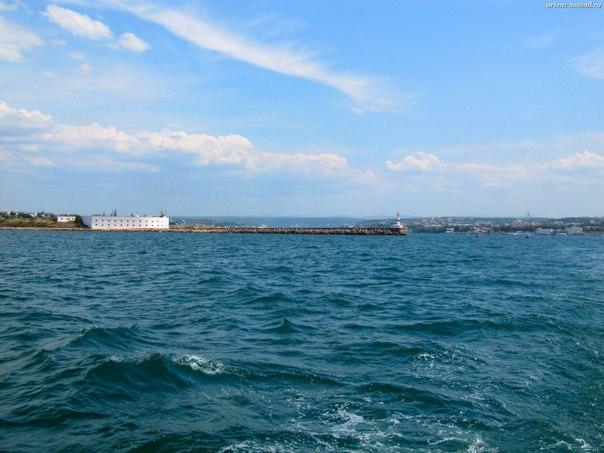 Бухта Севастополя. Вид с моря