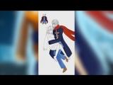 [SpeedPaint] Frisk and humanization Sans. RestartsTale/No More Restarts/NMR. [by Lucky Kano]