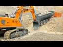 RC Model World Unique RC Vehicles from Liebherr Komatsu or Caterpillar Amazing RC Action