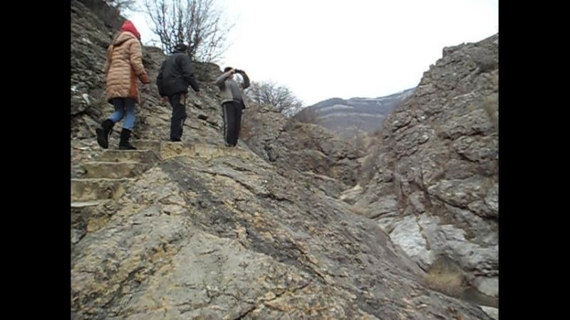 воскресняя прогулка по каскадному водопаду в урочище Панагия