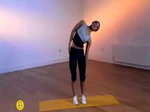 Легкие упражнения для похудения дома