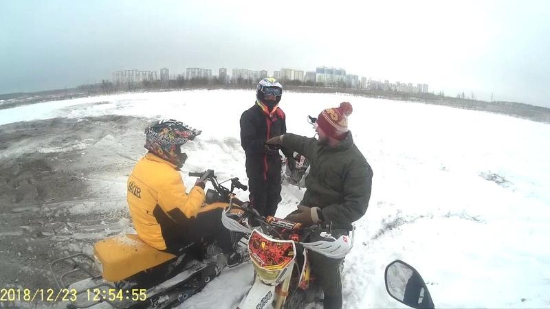 Domodedovo @ ACCESS SP450-S , BSE M8 450cc , Irbis Dingo 125cc , SSR 150cc