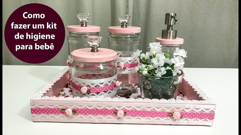 DIY - Como fazer um kit de higiene para bebê