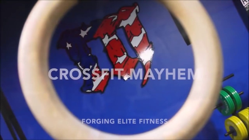 RIch Froning [Snatch, Clean and Jerk, Pull ups, Double under WOD]