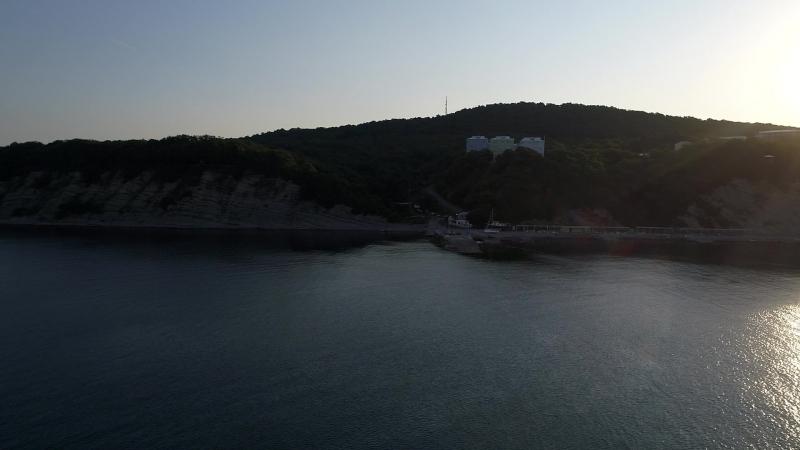 раннее утро на пляже Айдар
