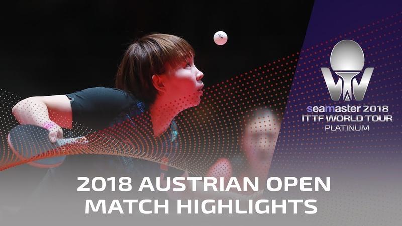 Chen Meng vs Zhu Yuling 2018 ITTF Austrian Open Highlights 1 2