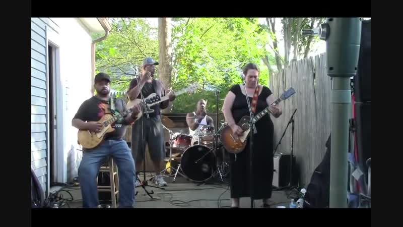 Joanna Connor Band Walkin Blues Carty BBQ in Norwood