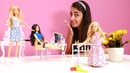 Sevcan Barbie için kuaför salonunda iş buluyor