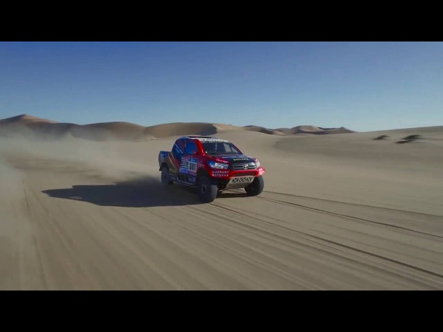 Toyota Hilux Dakar в Набмии