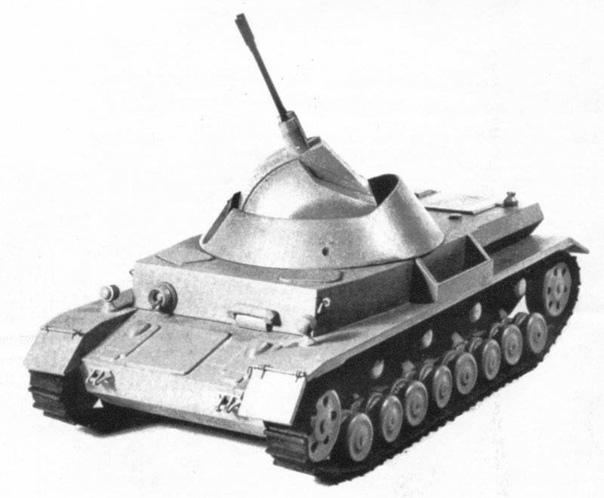 ЗЕНИТНЫЙ ТАНК ВЕРМАХТА «ШАРОВАЯ МОЛНИЯ» (UGELBLITZ) С самого начала Второй Мировой войны немецкое командование придавало большое значение противовоздушной обороне войск на маршах и