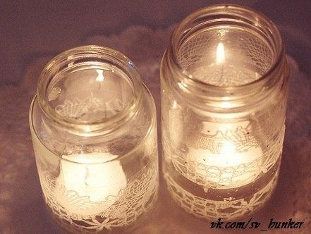 Свечи из сала