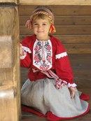 Детская одежда в народном стиле от Елены Головиной.