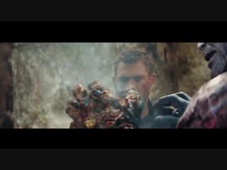 Мстители. Война бесконечности \ альтернативная концовка. Халк против Таноса - Сцена боя (Битва в Ваканде)