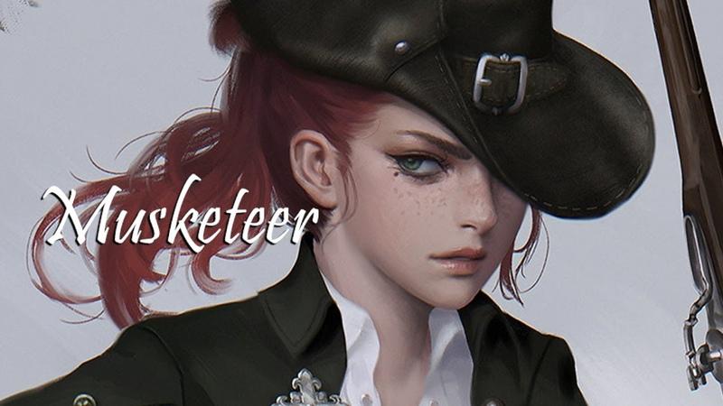 Character Concept Art (Photoshop) Speed video Musketeer 머스킷티어,총사 컨셉아트 스피드페인팅