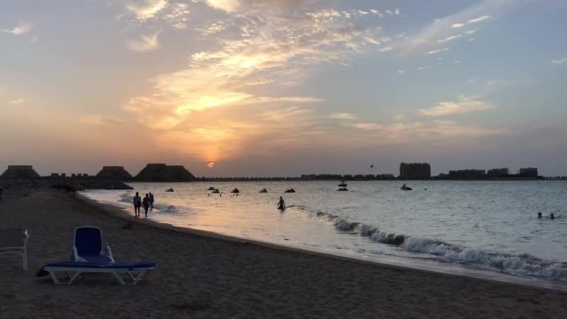 Очаровательный закат ☀️ Море 💦
