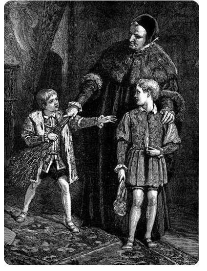 Мальчики для битья Мальчиками для битья в Англии и других европейских странах XV-XVIII веков были дети, которых воспитывали вместе с принцами, но которые получали телесное наказание за