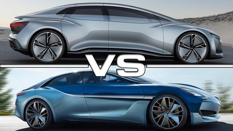 2018 Audi Aicon vs 2018 Borgward Isabella