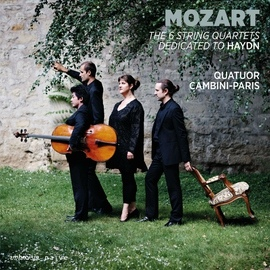 Wolfgang Amadeus Mozart альбом Mozart: The 6 String Quartets Dedicated to Haydn