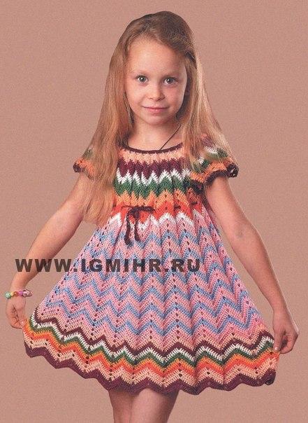 Связать платье своими руками