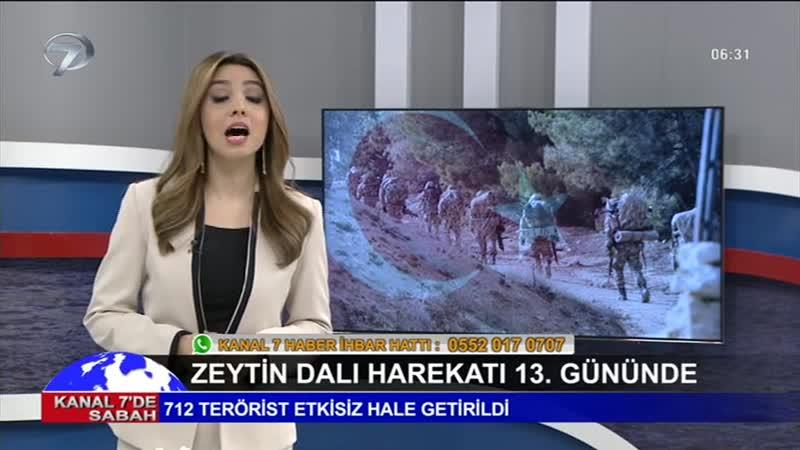 Kanal 7de Sabah - 1 Şubat 2018 - 01