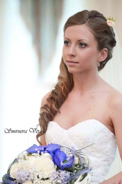 Прически и макияж для невесты