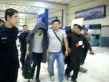 Kim Bum's departure @ Soekarno Hatta Int' Airport, Jakarta - Indonesia 08.08.10