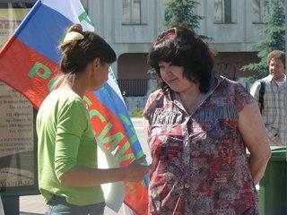 Горожане Владимира интересовались темой митинга