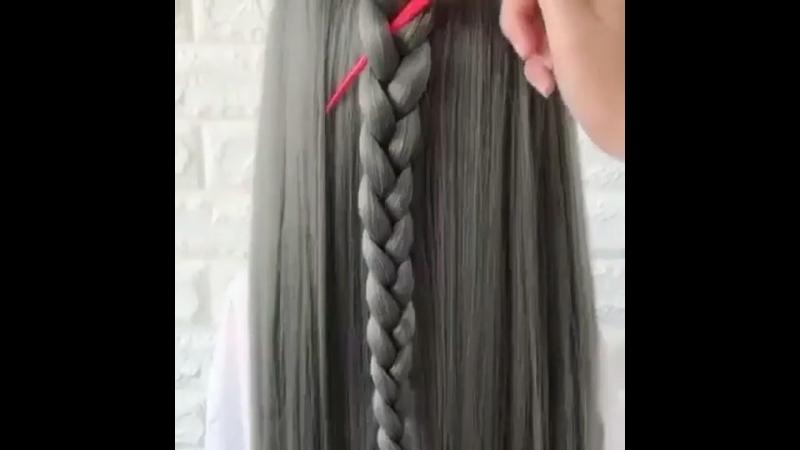 Причёска, которая займёт считанные минуты!