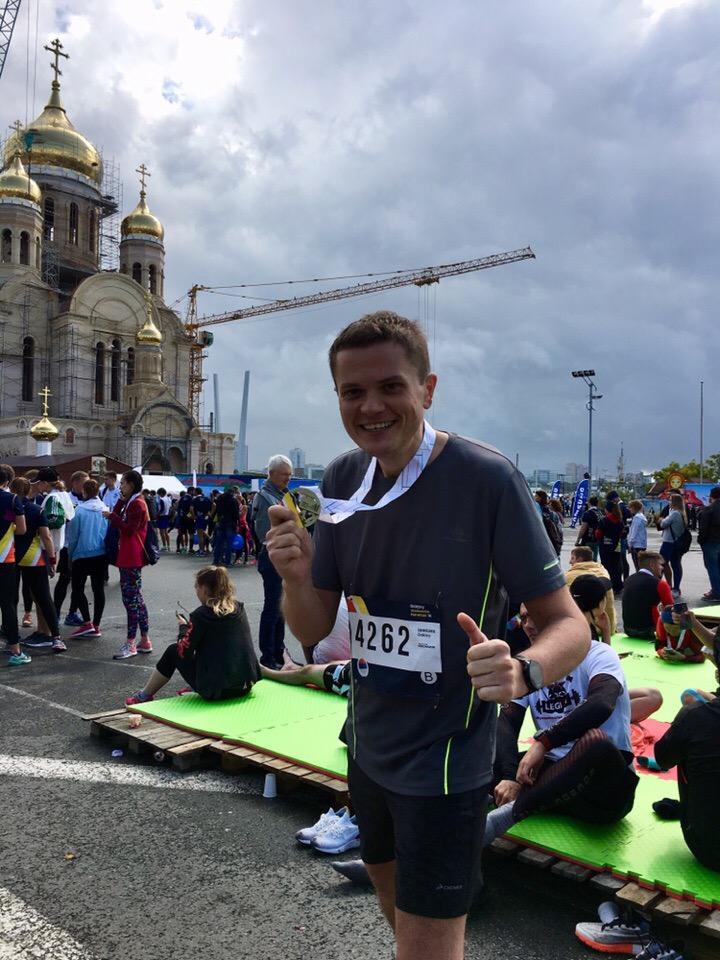 Мой второй марафон