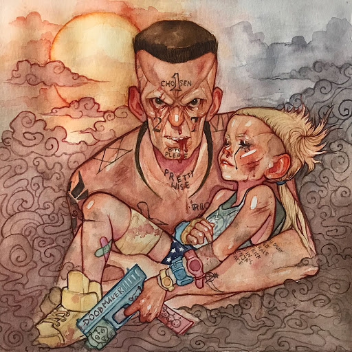 Die Antwoord альбом 2•GOLDEN DAWN•7