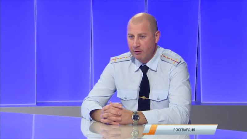 Интервью с начальником ПЦО отдела вневедомственной охраны по г. Ноябрьск (Вечер на МИГ ТВ)