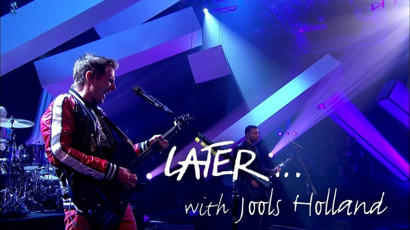 Muse perform The Dark Side on Later... with Jools Holland