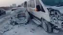 ACCIDENT TODAY АВАРИЯ ДТП на трассе Ленинск Кузнецкий Новокузнецк Междуреченск