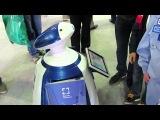 Моё знакомство с очаровательным роботом Фёдором (МАКС 2013)