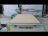 CNC cabinet machine, high precision wooden door making machine, 9KW Spindle wood cutting machine