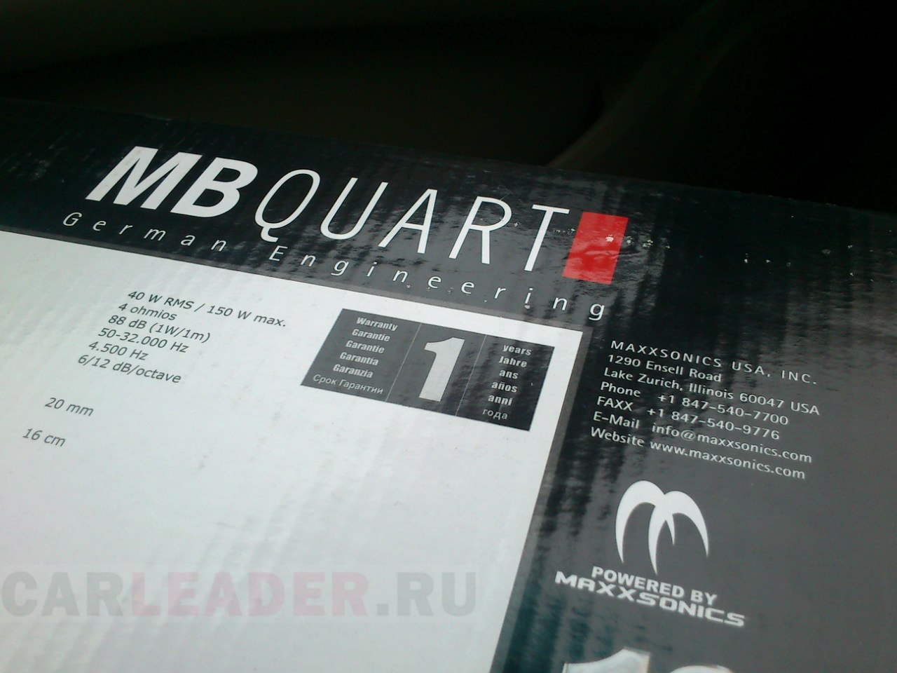 MB Quart FKB 116