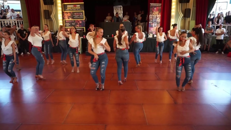 Stockholm Salsa Dance BachataKiz Ladies Student Team at Gröna Lund 2018