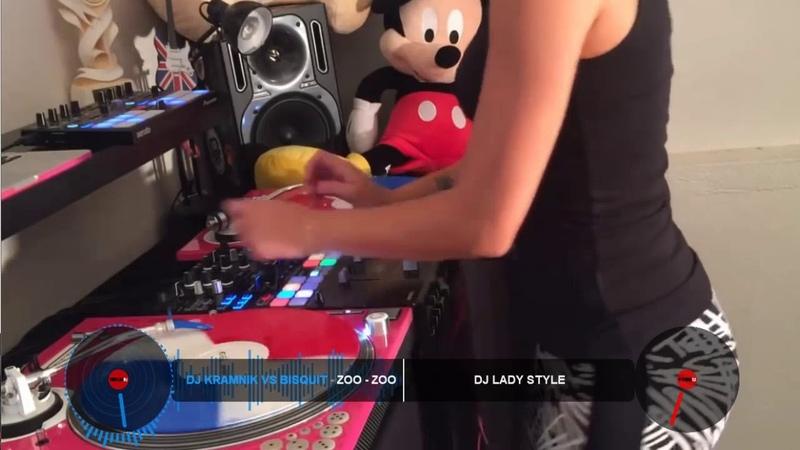 DJ KramniK vs Bisquit - Zoo Zoo video Dj Lady Style