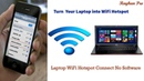 How To Connect WiFi Hotspot Laptop To Your Andriod