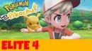 Pokemon Let'S Go Elite Four Battle