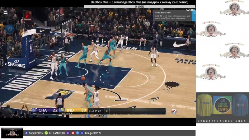 NBA Live 18 (PS4) - Twitch Stream 361