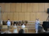 Школа 12 месяцев, выступление на фестивале Орф-весна (Москва, 30.04.18)