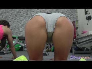 Alexis crystal, lexi dona, shrima malati - fit sexy lesbian gym threesome [lesbian, gym, sports fantasies, theeesome, 1080p]