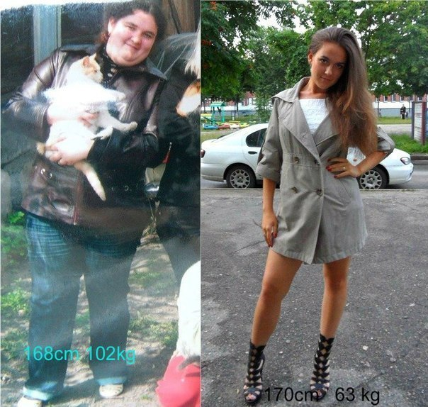 истории похудения после родов