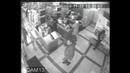 Кобрин. Видеокамера зафиксировала момент похищения ящика для пожертвований Спасскому монастырю.